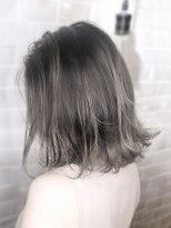 オーブ ヘアー レイ 沖縄北谷店(AUBE HAIR ray)【AUBE HAIR】外国人風カラー_外ハネボブ