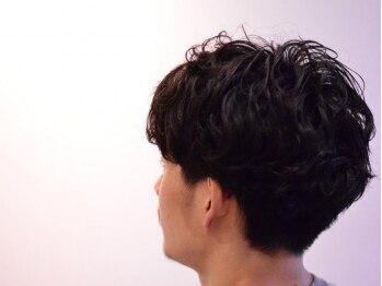 """ジラフ(giraf)の写真/ワンランク上の上質な仕上がり。飾らない""""just""""なスタイルならここ★頭皮クレンジング+カット¥6480♪"""