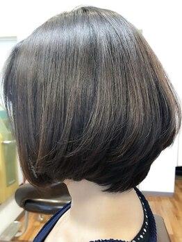 エレファントノーズの写真/【南イオンすぐ★】髪にやさしい施術と、豊富なカラーで自然な仕上がりに♪ケアカラーもおすすめ!