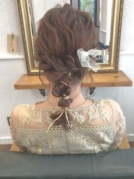 レジスタヘアーワークス (REGISTA hair works)の写真/結婚式のお呼ばれや大切なデート・イベント前のヘアセットに◎特別な一日は【特別な私】で過ごしませんか?