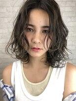 ヘアサロンエムピーズ イケブクロ(HAIR SALON M P's 池袋)グレージュ☆ミディ