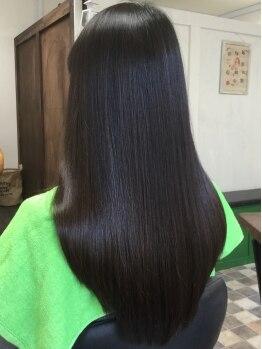 アロー ヘア(Arrow Hair)の写真/浜松町/大門スグ☆NEW OPEN!!【縮毛矯正+カット+ハホニコトリートメントスチーム¥8500】