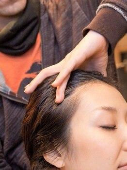 ティンク Hair Tinkの写真/美しくハリのある、生まれたてのような髪へ―。【Tink】のヘッドスパで全身リラックス♪癒しの極上タイム◎