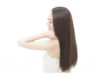 アリエーテ(ariete)の写真/くせ毛や広がりが気になる方にオススメ!乾かすだけで自然にまとまるさらツヤ髪へと導きます◎
