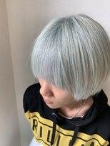 ホワイトマッシュヘア