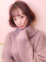 シマ セブン ギンザ(SHIMA SEVEN GINZA)plum pink