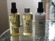 美容室髪香の雰囲気(人気の【N.】取扱い店。各種販売も行っております♪)