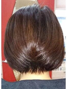 ヘアブースぶるーむの写真/≪染める度美しく健やかに-≫【INOA】オイルグロスカラー取扱いサロン♪髪にも心もストレスフリーに◎