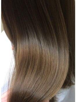 クリスタルマジック 松原店(CRYSTAL MAGIC)の写真/組み合わせ169通り!話題のAujuaトリートメントを髪質を見極めあなた専用にセレクトします★