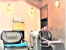 パステル ヘアー デザイン 平井北口(Pastel Hair Design)の雰囲気(温かみある落ち着いた雰囲気とアロマシャンプーで癒されて♪)