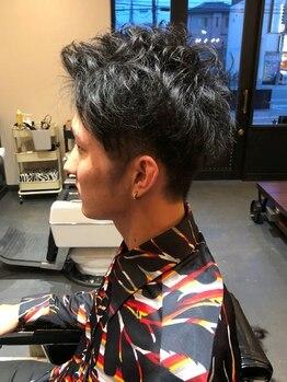 バロック(BAROCK)の写真/【鳳駅徒歩1分】「Beauty」「Fashion」「Culture」‥新時代の理容室BAROCK。個性を引き出すBARBER SHOP◇