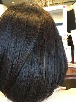 ティンク Hair Tinkの写真/上質カラー剤使用でツヤ・透明感・手触りの違い実感♪肌が弱い方・髪が傷みやすい方必見のメニューも♪