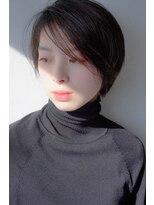 《hair make No.8・中村》耳掛けハンサムショート