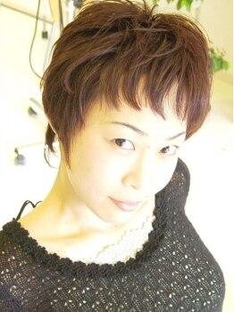 ヘアヴェローチェ(hair-veloce)の写真/【リフレッシュMenu追加も人気☆】深みのあるオトナカラーや、上品なスタイル提案が得意なVeloce…♪