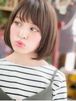 ■シンプルな黒髪ナチュラルボブ8-26★戸田公園20代30代40代