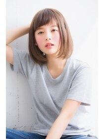 【HONEY表参道】ラフな抜け感可愛い☆小顔ミディボブ(野村悠記)