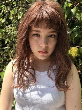 ヘアサロンエムピーズ イケブクロ(HAIR SALON M P's 池袋)カッパーブラウン☆ロング