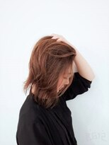 美容室 ボヌール【ボヌール】かき上げ系カジュアルボブ【簡単スタイリング】