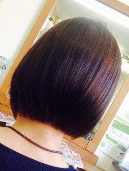 パキアドゥーエ(Pakia due)の写真/ヘアケアのプロが髪質を見極めトリートメントを厳選。思わず触りたくなる極上のうるツヤ髪はやみつきに♪