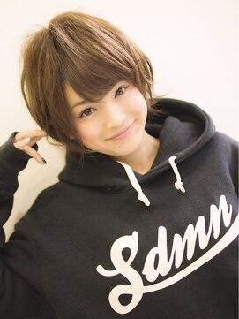 田中美保さん風髪型