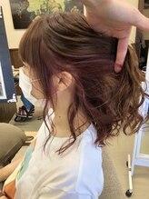 ヘアーアート シオン(Hair Art Sion)大人気の艶系インナーカラー