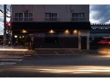 ログ(.6 ROGU)の雰囲気(県病院ナナメ向かいにある交差点の角に位置してます。)