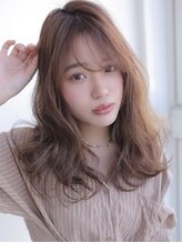 アグ ヘアー リアナ 愛子店 仙台(Agu hair riana)《Agu hair》ウザバング×大人ゆるカール