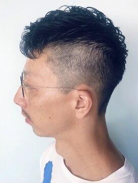 ルシュ(Leshu)お洒落男性人気◎モヒカンショート【松本】