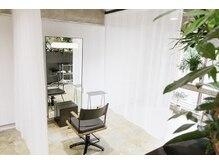 アル(AL)の雰囲気(広めな席感覚、カーテンで半個室に。周りが気になりません。)