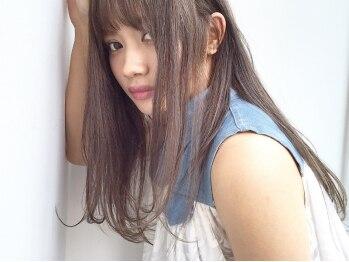 トロニー(TLONY)の写真/【カラー+コラ-ゲントリ-トメント¥6300】スチームを使用する本格Trでハイトーンカラーで傷んだ髪の修復を♪