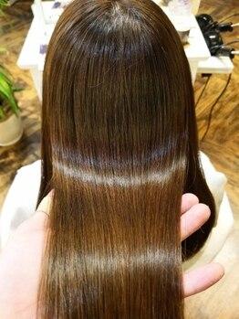 ベレッタ ネヤガワ(veretta. neyagawa)の写真/【テレビ・メディアなどで話題☆】『ミネコラ』で髪の芯からキレイ☆一人ひとりに合わせたケアでツヤ感◎