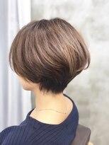 エトネ ヘアーサロン 仙台駅前(eTONe hair salon)30代から40代にオススメのハンサムショート