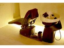 ヘアーサロン ビコ(hair salon bico)の雰囲気(首や腰に負担のかからないシャンプー台でみんな寝ちゃいます!)