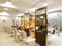 美容室 ビーンズ(BEANS)の雰囲気(天井も高く、開放感と清潔感のある店内。)