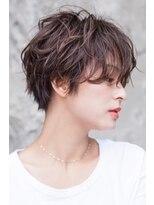 【kate】大宮 フォギーベージュ×ハンサムショート