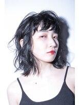 黒髪×モードウェーブ