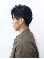 モリオ フロムロンドン さいたま新都心店(morio from London)【morio 出塩】黒髪 ツーブロック ワイルドアップバングショート