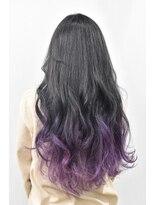ヘアーサロン エール 原宿(hair salon ailes)(ailes 原宿)style409 ブルーブラック×パープルグラデーション