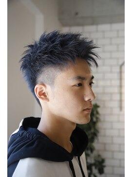 ヘア イコール(hair equal)K Blue スラッシュ