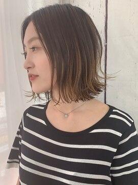 セシルヘアー 岡山駅前店(Cecil hair)モテ髪王道セミボブ
