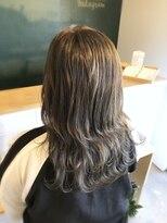アミィヘアー(Ami Hair)シアーグレージュ×ロブ