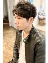 ヘアーアイスカルテット(HAIR ICI QUARTET)メンズパーマ × ピンパーマ
