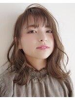 【+JOURS 加賀美 悟】シースルーバング × 耳かけウェーブ