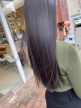ヴァンカウンシル 金山(VANCOUNCIL kanayama)の写真/【金山駅徒歩3分】ダメージによるクセやうねりを改善◎繰り返すほどにキレイな憧れのツヤ髪へ導きます★