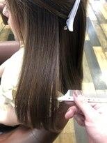 ファミーユ(famille)手触り抜群の自然な美髪モイストストレート◎