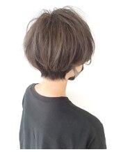 ヘアーバイモンキー(Hair by Monkey)ハイライトグレージュ+ショート♪