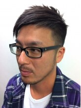 インヴィンシブル ヘアー マーダ(Invincible Hair MADA)メンズ刈り上げアシンメトリー