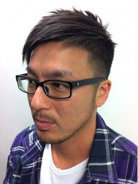 インヴィンシブル ヘアー マーダ(Invincible Hair MADA) メンズ刈り上げアシンメトリー