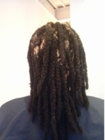 【angelina】back comb dread rocks