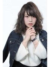 プレアヘアドレッシング2016春☆大人可愛いミディアムパーマ